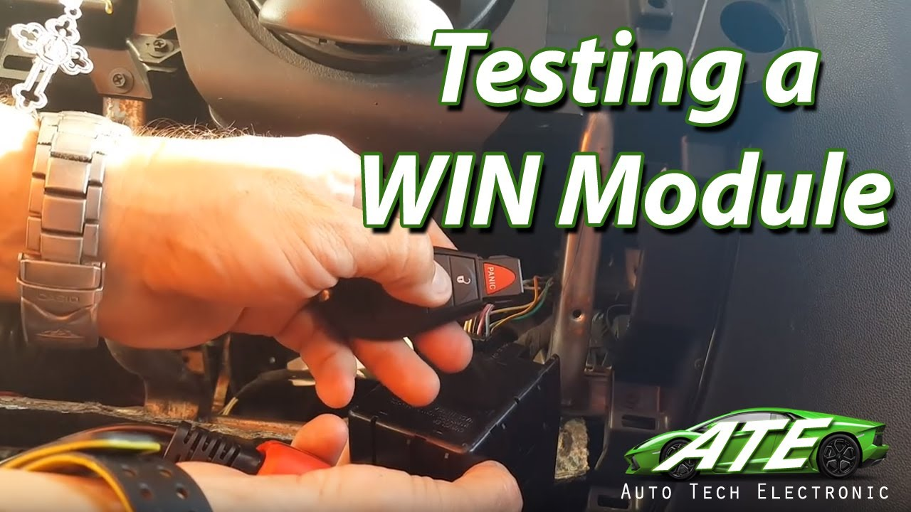 testing wireless ignition node module chrysler dodge jeep ram plug connector [ 1280 x 720 Pixel ]