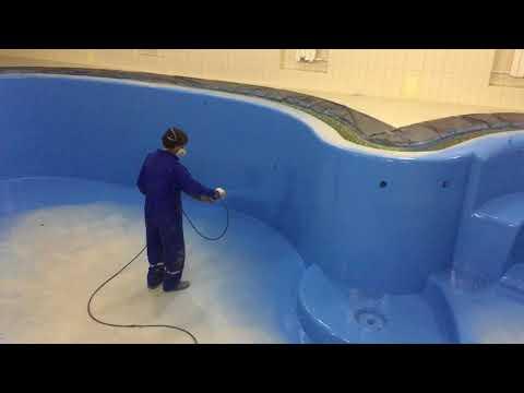 Полиуретановая гидроизоляция Апифлекс Р 2к - напыление