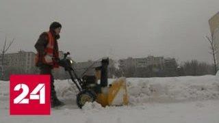 Снегопад в Москве: метро и коммунальщики перешли на усиленный режим - Россия 24