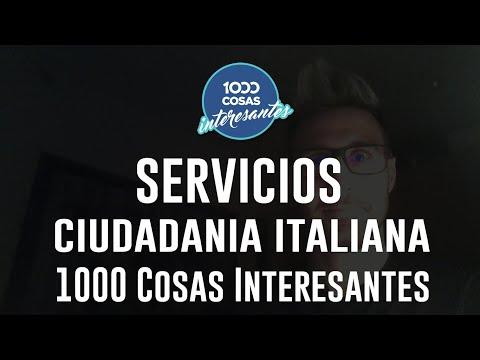 Servicios de 1000 Cosas Interesantes - Cómo contactarnos - Ciudadanía Italiana