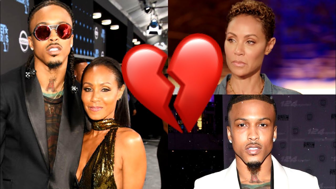 Jada Pinkett Smith Confirms Relationship With August Alsina on ...