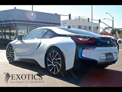 Rent BMW i8 Beverly Hills California 777 Exotic Car Rental