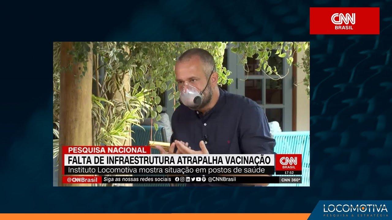 CNN BRASIL: Falta de infraestrutura em postos de saúde atrapalha vacinação, aponta pesquisa