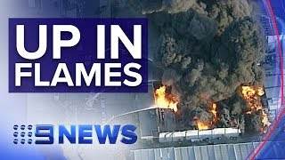 Melbourne factory fire could burn for days | Nine News Australia