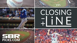 Closing Line   Best Bets For Saturday's MLB Odds