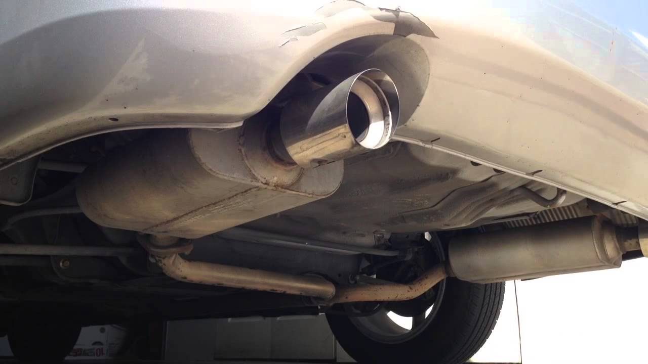2004 Honda Accord Custom Exhaust