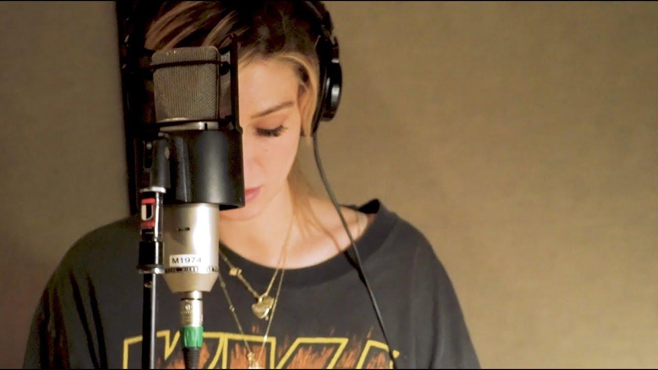 Delta Goodrem - Keep Climbing, In the Studio Recording