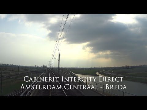 Cabinerit Intercity Direct Amsterdam Centraal - Breda
