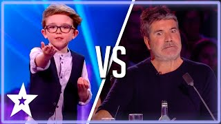 Magicians Dan Rhodes & Aidan McCann Bring Their JUDGE To The Stage | Kids Got Talent
