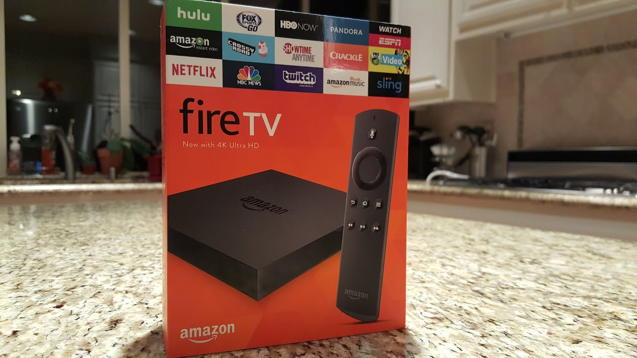 Amazon Fire TV 2015 2nd Generation - Unboxing and Overview