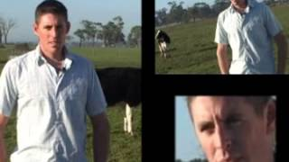 Will, dairy farm manager