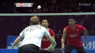 2016 All England - F- Praveen Jordan/Debby Susanto vs Joachim Fischer Nielsen/Christinna Pedersen