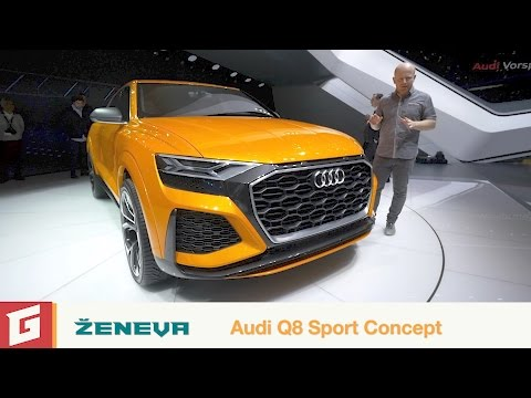 Audi Q8 Sport Concept + SQ5 + S5 Cabrio - GARÁŽ.TV - Rasťo Chvála