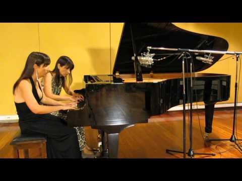 Ravel - Ma mère l'oye - Le Jardin Féerique - Fabiana and Paula Chávez