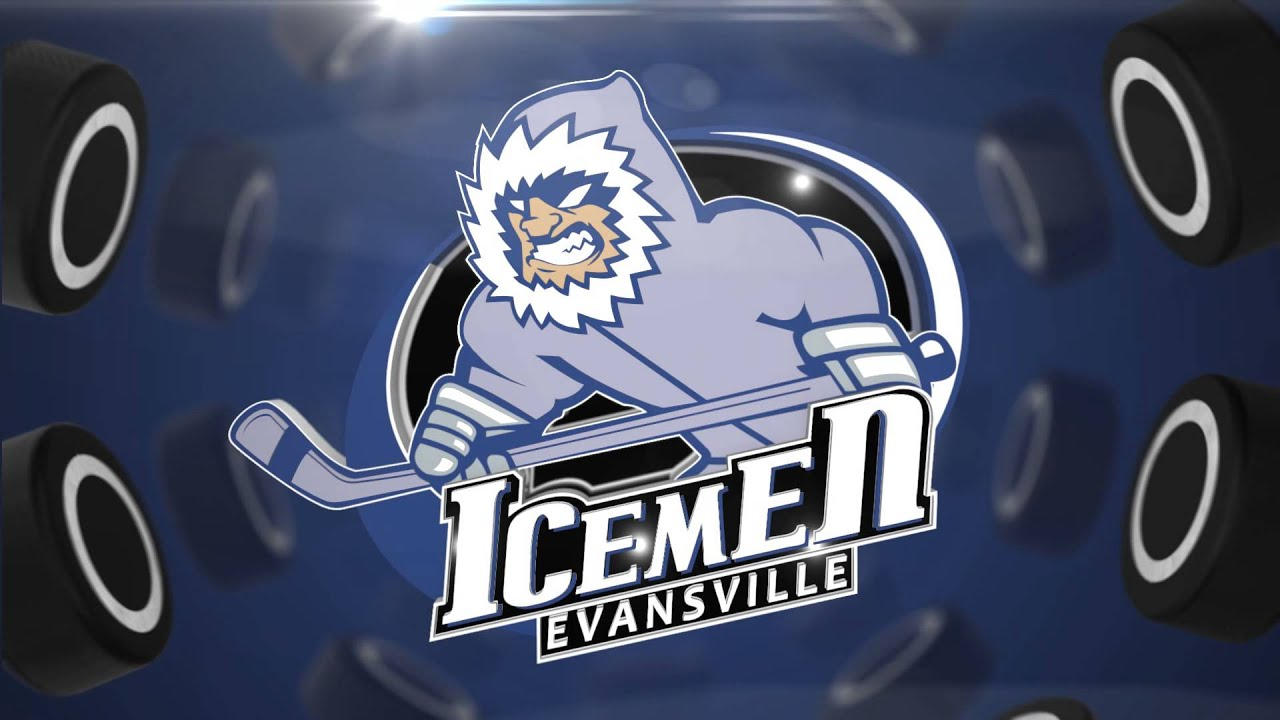Ford Center Graphics Evansville Icemen Spinning Transition