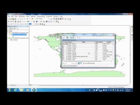How to join an Excel spreadsheet onto an attribute table in ArcMap 10.0