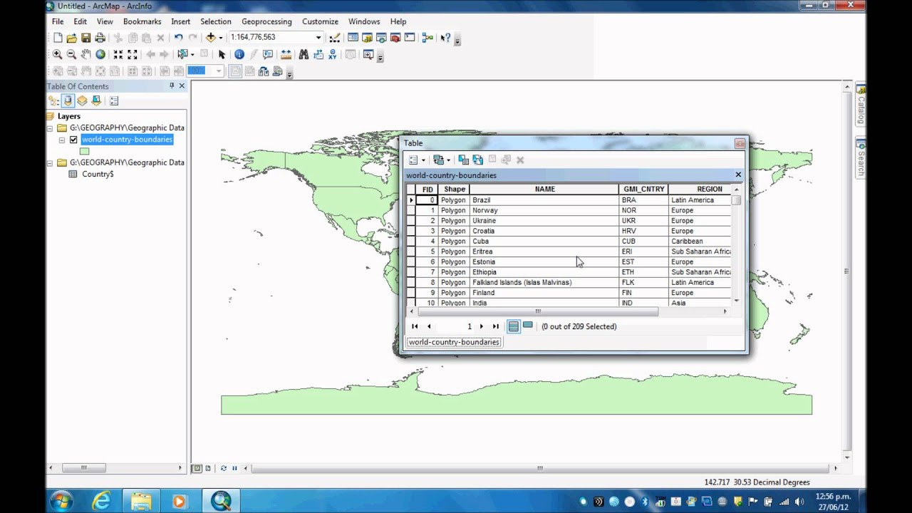 How To Join An Excel Spreadsheet Onto An Attribute Table In Arcmap 10 0