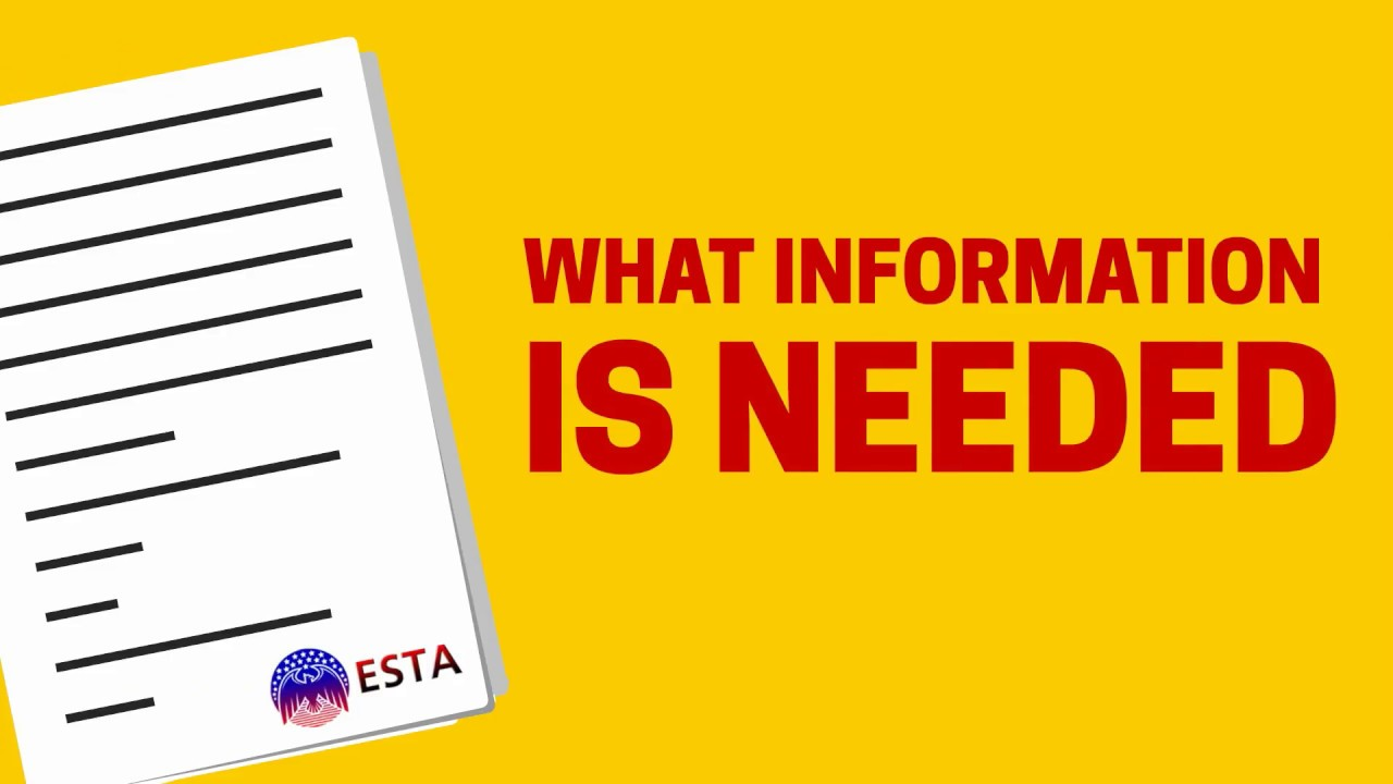 What are the ESTA Questions?
