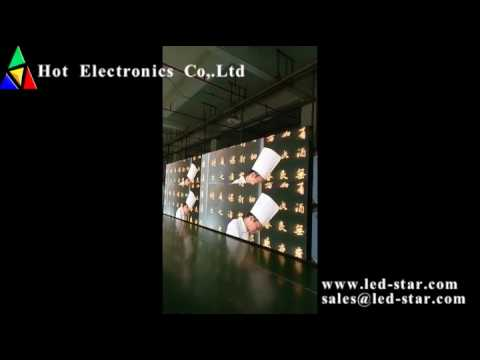 P4.81 outdoor rental LED display- Hot Electronics