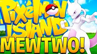 OP LEGENDARY SHINY MEWTWO OMG - MINECRAFT PIXELMON ISLAND SMP - POKEMON MOD #12