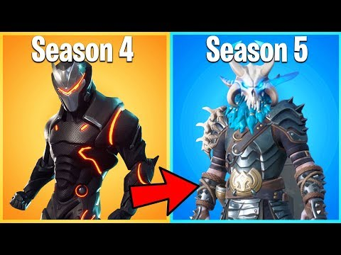 RANKING EVERY SEASON 5 FORTNITE SKIN FROM WORST TO BEST (season 5 battle pass ranking guide)
