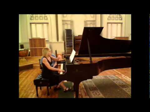 Sorabji - Adagio (Symphonia brevis) - Donna Amato, piano