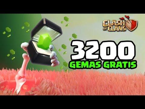 CONSEGUI 3200 GEMAS GRÁTIS  NO DESAFIO DE HALLOWEEN! CLASH OF CLANS