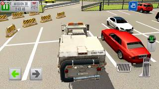 Multi Level 7 Car Parking Simulator / Parking and Driving Skills / Android Gameplay Video #8
