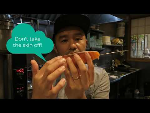 Osakana Fish School 1 -How To Cook Fish In Oven / Kushiyaki -