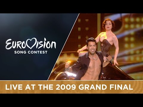 Alex Swings Oscar Sings! - Miss Kiss Kiss Bang (Germany) Live 2009 Eurovision Song Contest