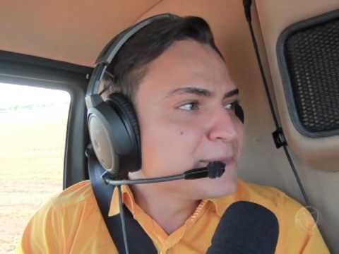 Sortudos fazem voos panorâmicos durante 8° Dinâmica em Porto Alegre do Norte