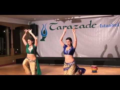 Lavani & Belly Dance Fusion by Veve Dance in Turkey at Tarazade Festival 2013