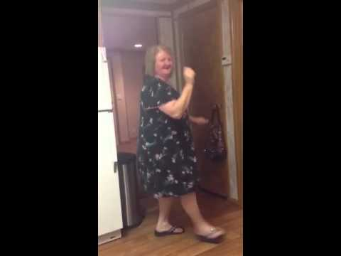 fb08e6ab13 Grandma dancing in her her nightgown! - YouTube
