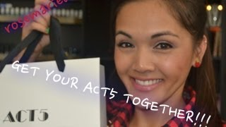 GET YOUR ACT5 TOGETHER!!! Thumbnail