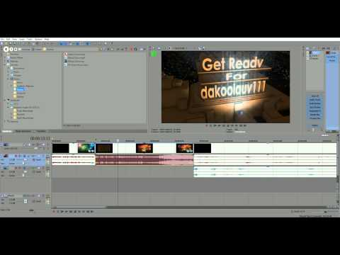 Sony Vegas Pro 12: All Tips and Tricks: How To Edit Like A Boss! Part 1