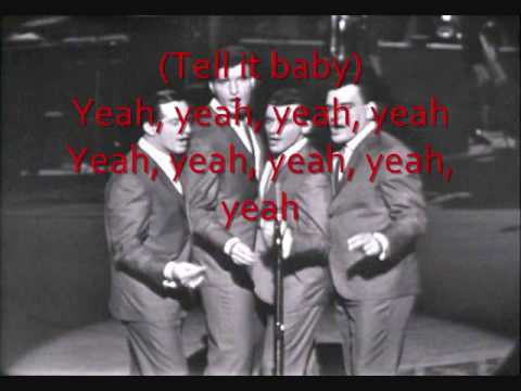 Tell It To The Rain by Frankie Valli And The Four Seasons lyrics