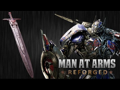 Optimus Prime's Sword -Transformers: The Last Knight - MAN AT ARMS