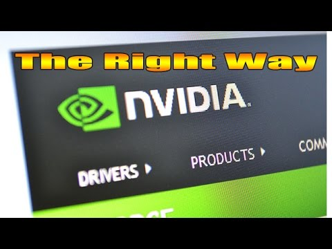 Windows 10 How To Update Your GPU Nvidia Drivers BEGINNERS GUIDE