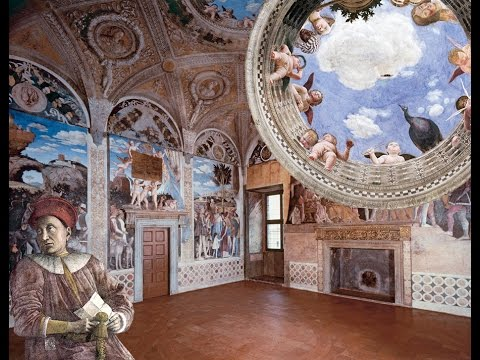 andrea mantegna la camera degli sposi youtube