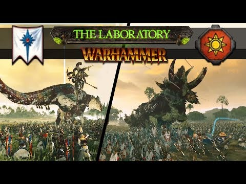 Download Youtube: Total War: Warhammer 2 - Hunting Godzilla Sized Dinosaurs (The Laboratory)