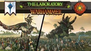 Total War: Warhammer 2 - Hunting Godzilla Sized Dinosaurs (The Laboratory)