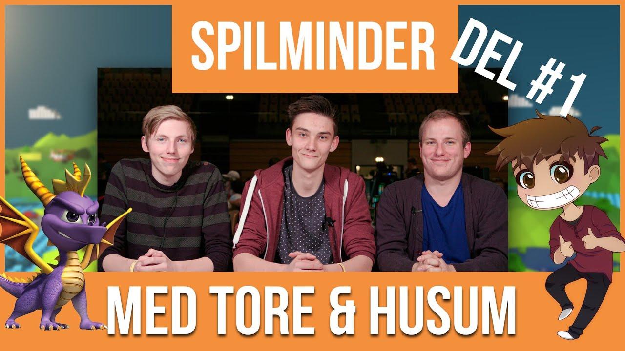 SPILMINDER MED ALEXANDER HUSUM & TORE LEHMANN | SPYRO DEL 1/2