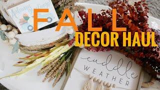 Huge Fall Home Decor Haul