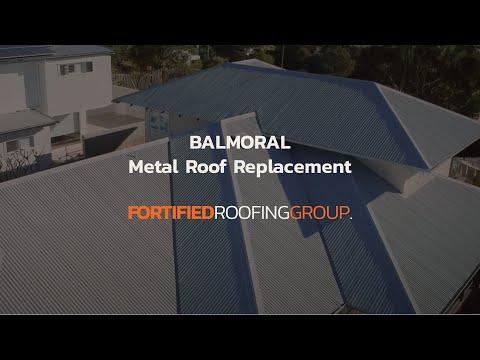 Metal Roofing Brisbane | Balmoral | Roof Replacement Ozroofworks