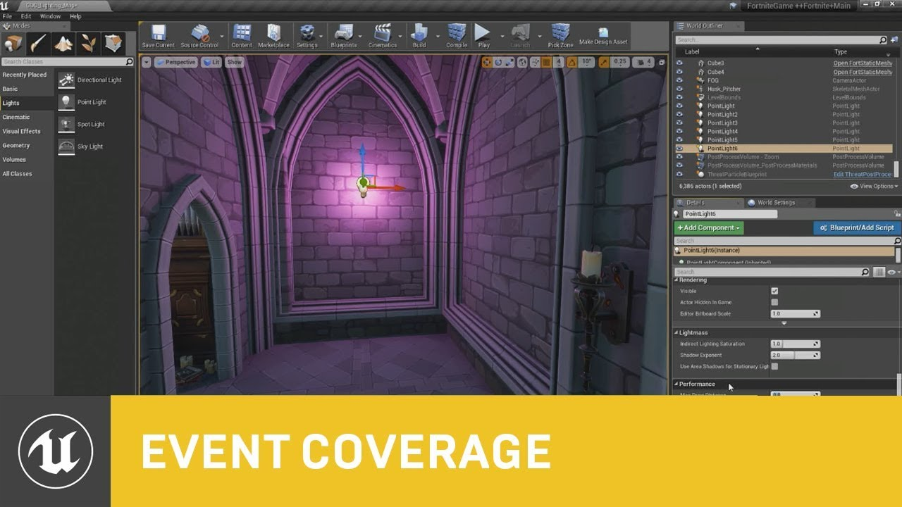 Fortnite's Real-Time Lighting Techniques and Tools   GDC 2018   Unreal  Engine