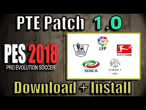 [PES 2018] PTE