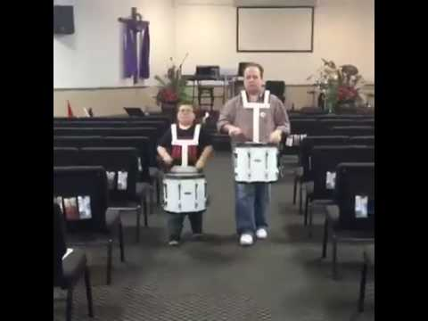 Marching Drums at Dream Big After School Music Program