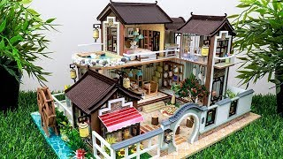 5 DIY Miniature Modern DollHouse Rooms With Swimming Pool #2