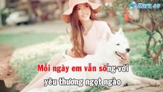 Cảm Ơn Vì Tất Cả (Remix) - Anh Quân Idol [Karaoke Lyrics]
