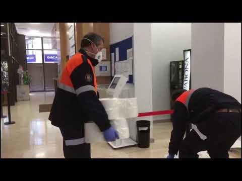 La labor de Protección Civil en Ourense durante el confinamiento